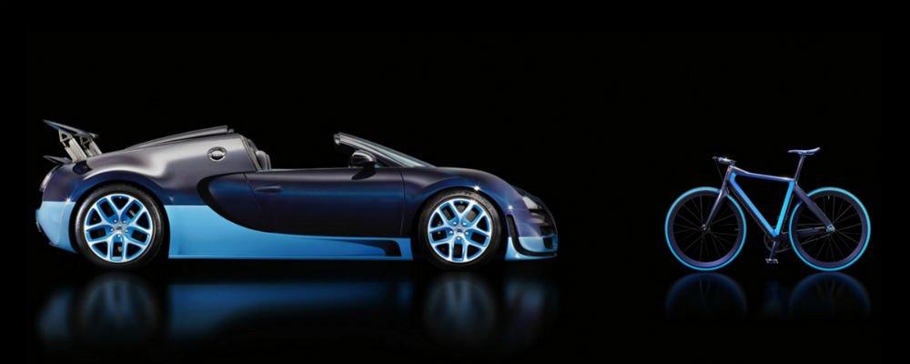 La bicicleta más ligera del mercado es una Bugatti