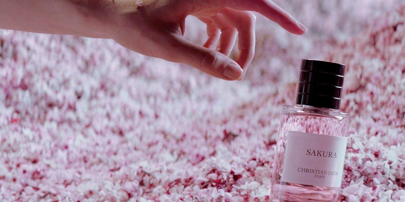 Sakura, el perfume de Dior con aroma a cerezo japonés