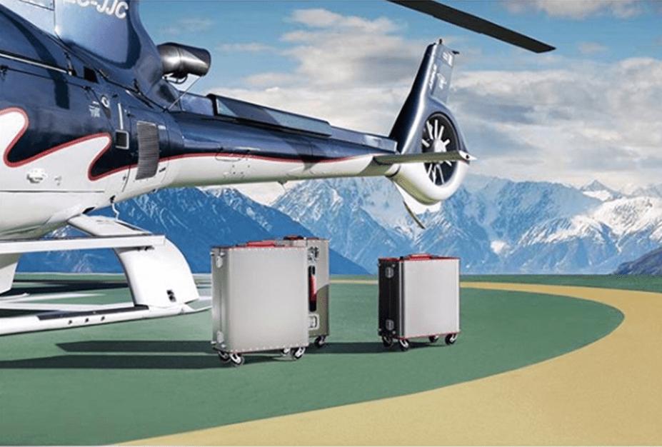 Kronos, las maletas de titanio para los viajeros más exigentes