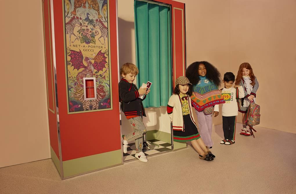 Net-a-Porter se lanza a la moda infantil de la mano de Gucci
