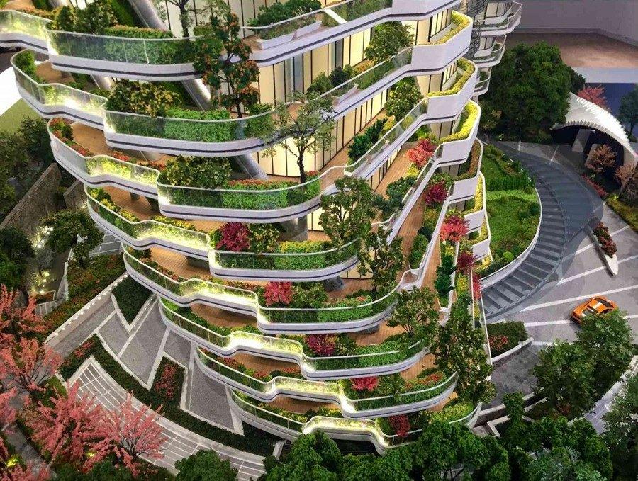 Agora-Garden-edificio-ecologico-TheLuxuryTrends