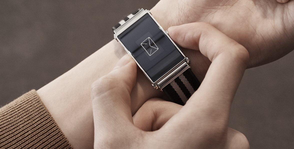 TWIN Montblanc, la correa que transforma los relojes tradicionales en digitales