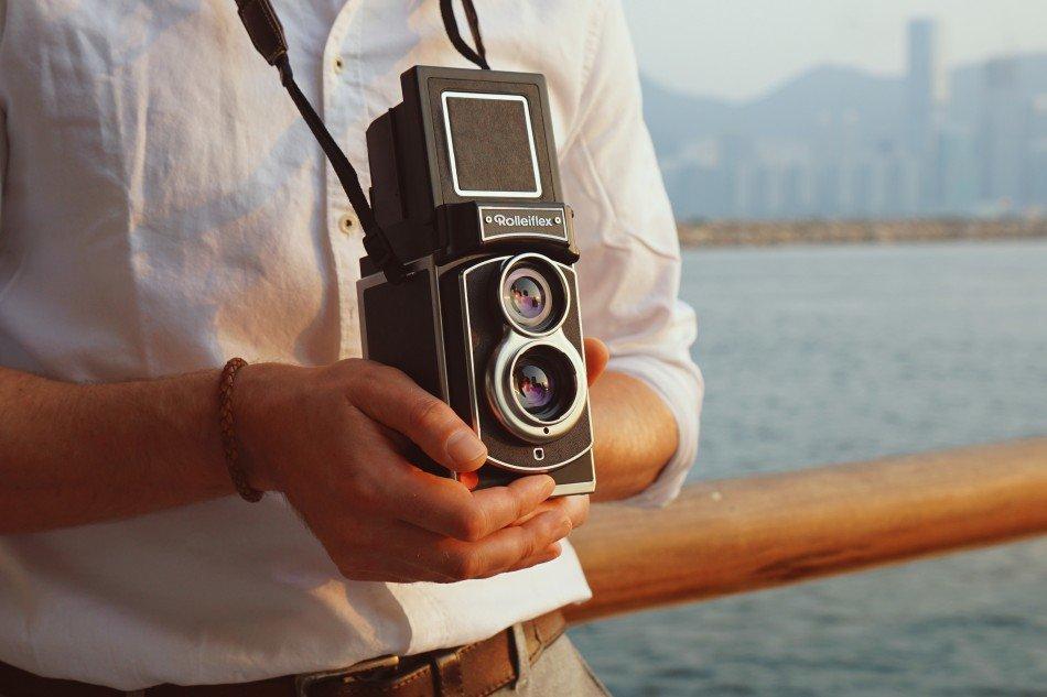 Cámara instantánea Rolleiflex , la reedición de un icono de la fotografía