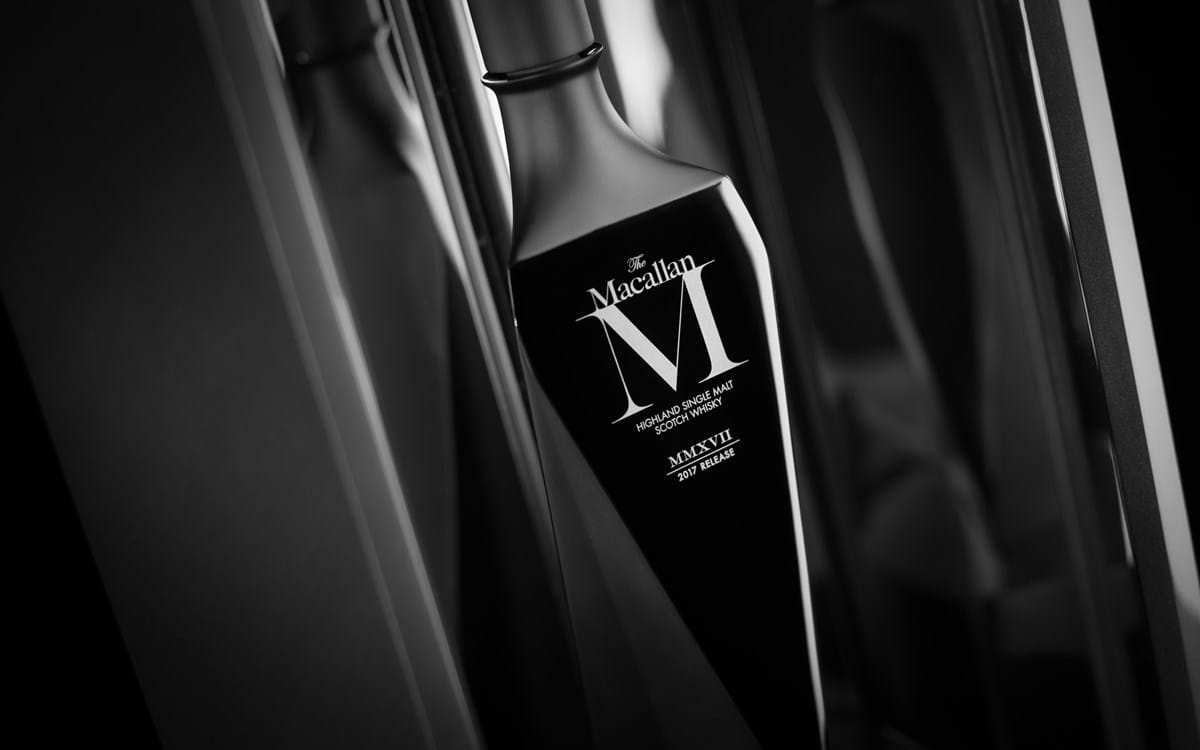 The Macallan viste de negro su última creación: M Black