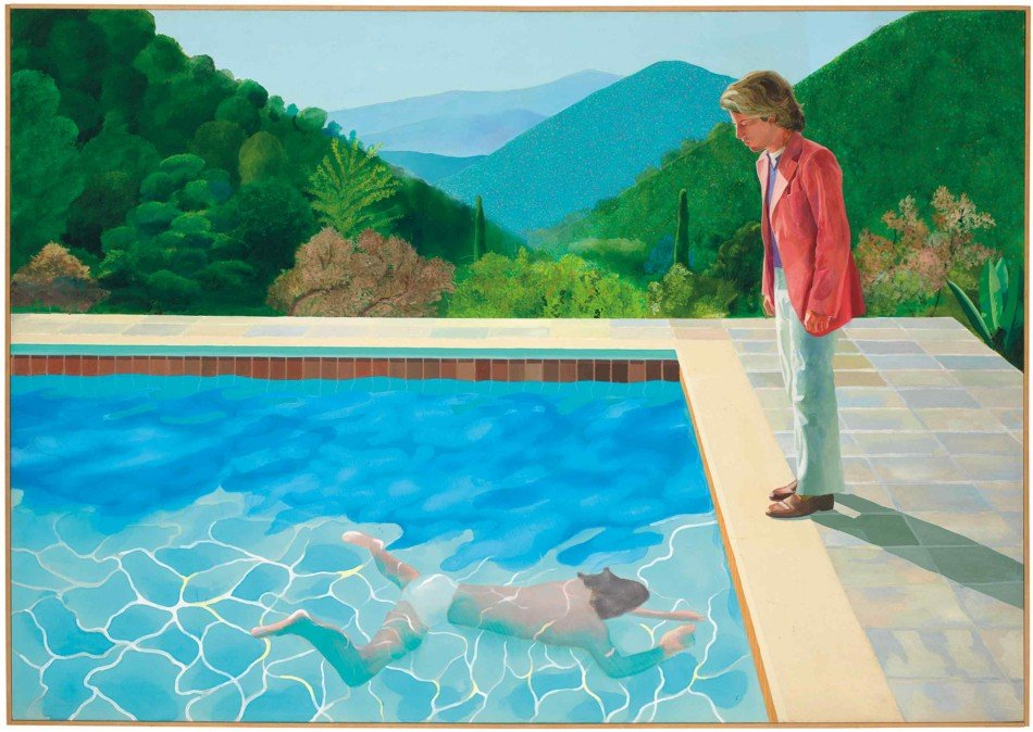 Hockney batirá récords en Christie's