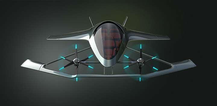 Aston Martin Volante Vision Concept, el coche volador del futuro