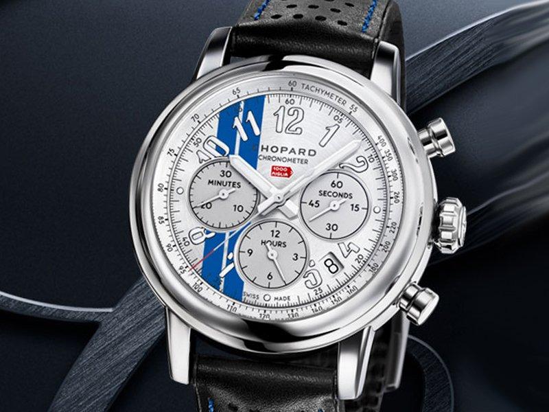 Mille Miglia Classic Chronograph Racing Stripes Edition, el homenaje de Chopard a las Carreras americanas