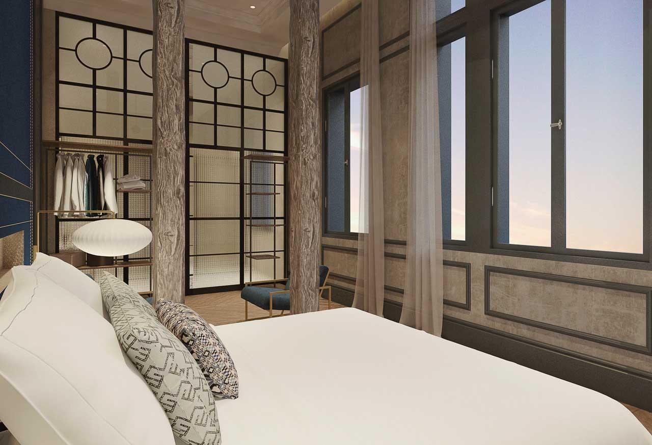 Coolrooms Atocha, el hotel más cool de Madrid