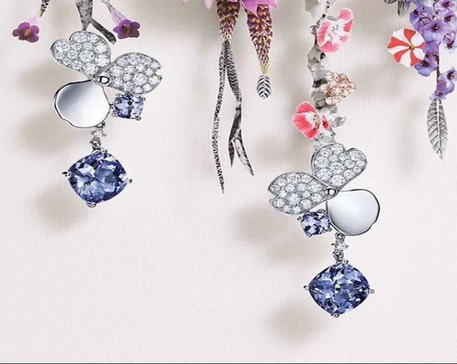 Paper Flowers, la colección más fresca y orgánica de Tiffany & Co