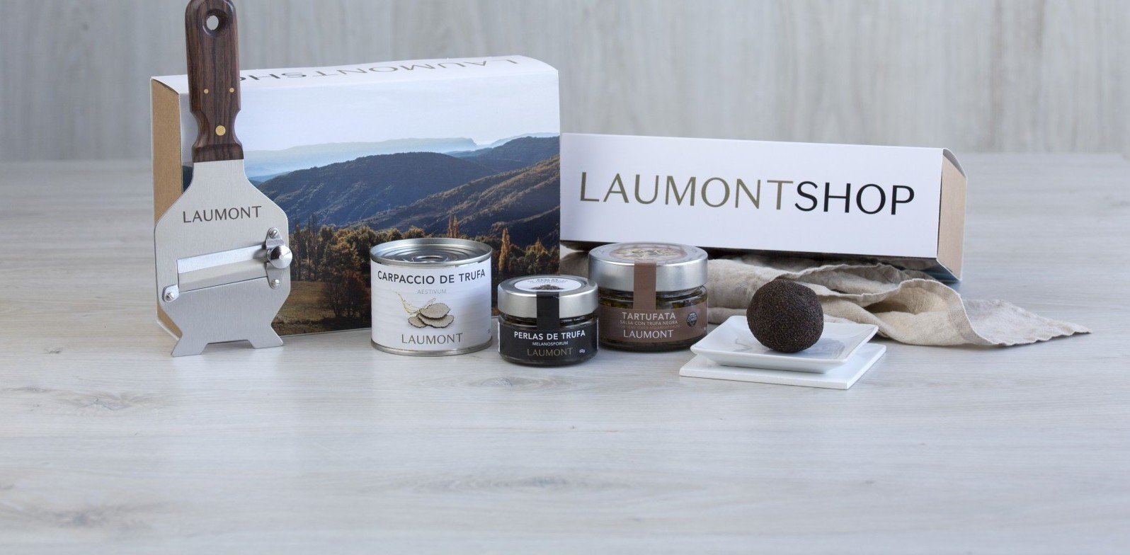 Laumont, deliciosa trufa fresca en tu mesa navideña en tan solo 24 horas