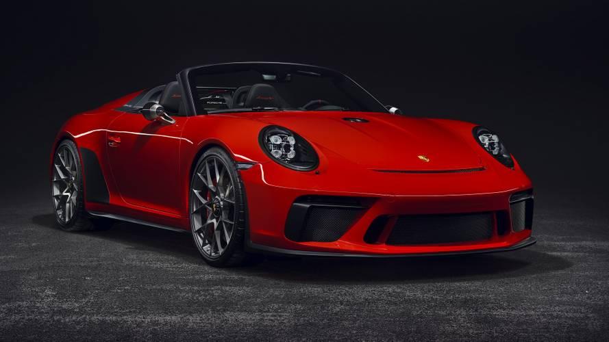 Porsche conmemora su 70 aniversario con un nuevo 911 Speedster