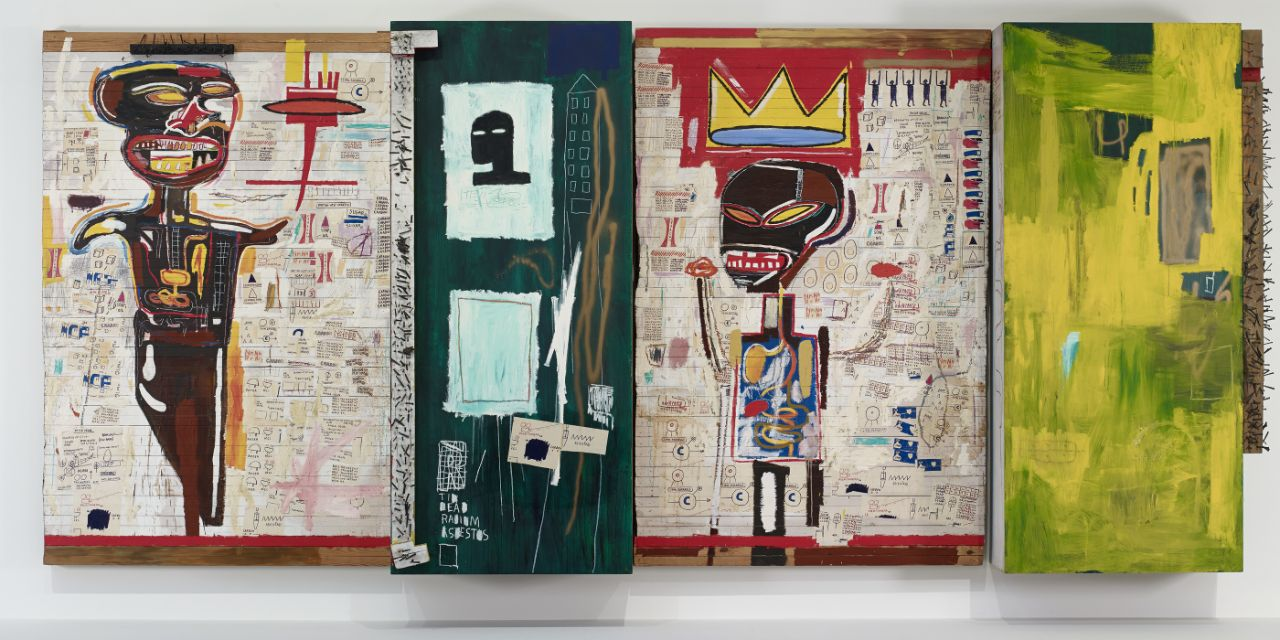 El arte radical y urbano de Basquiat en la Fundación Louis Vuitton
