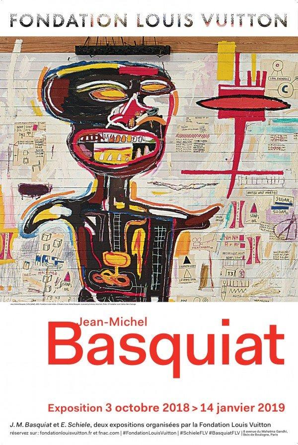 Basquiat-exposición-cartel-TheLuxuryTrends
