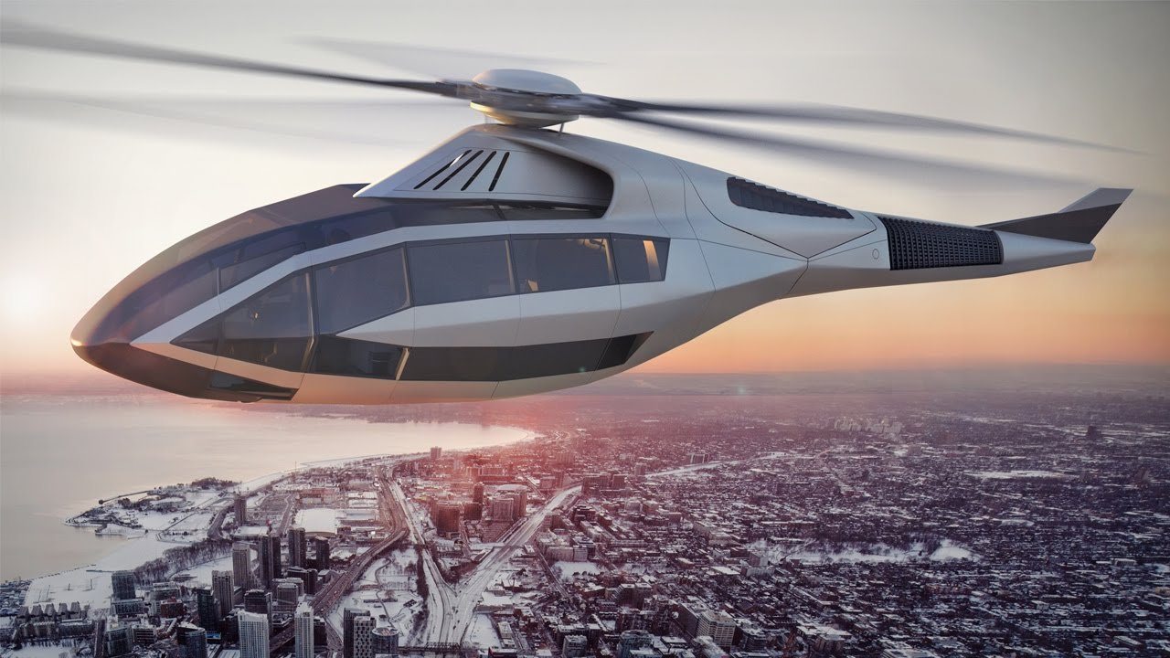 Bell FCX-001, el helicóptero del futuro