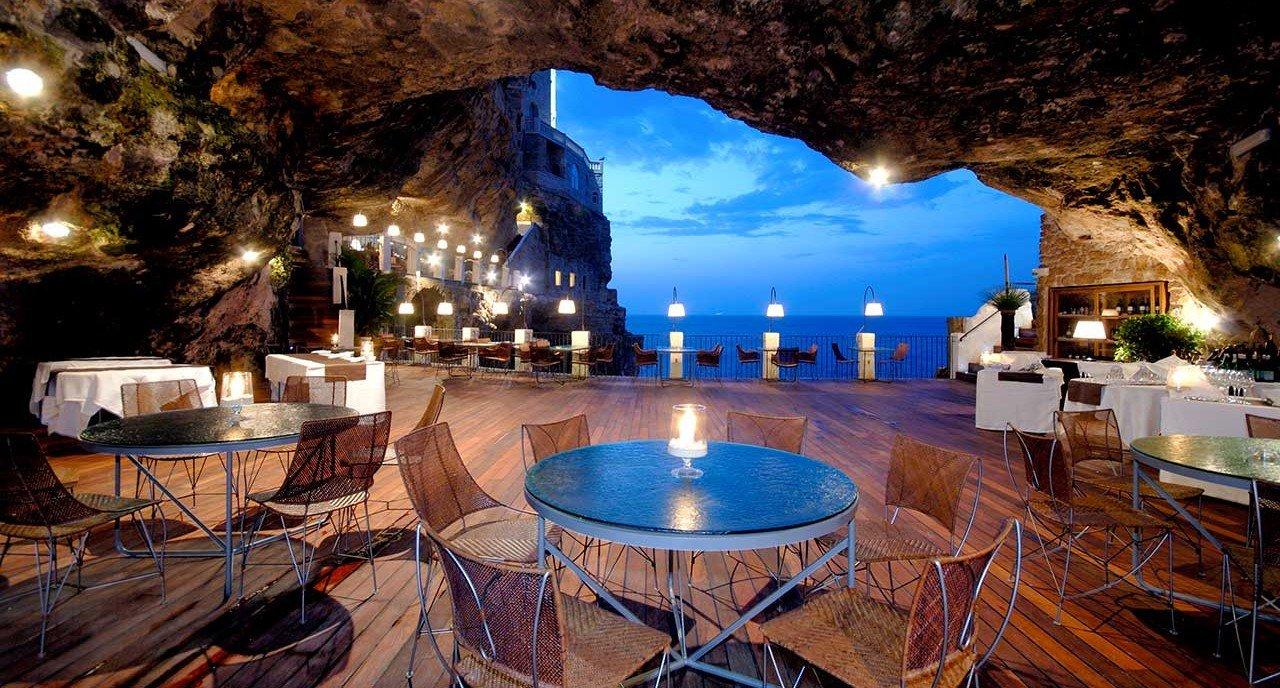 Grotta Palazzese, uno de los restaurantes más románticos para celebrar San Valentín