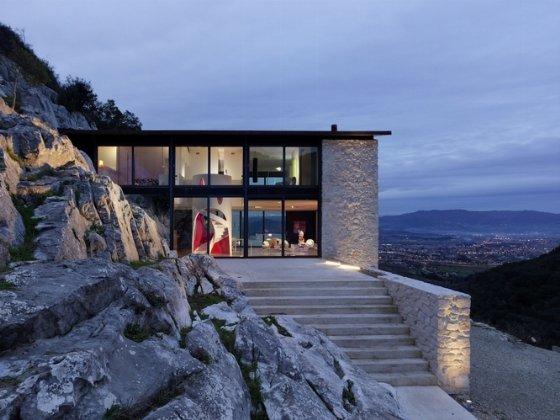 Villa Farfalla, arquitectura ecológica en la Toscana