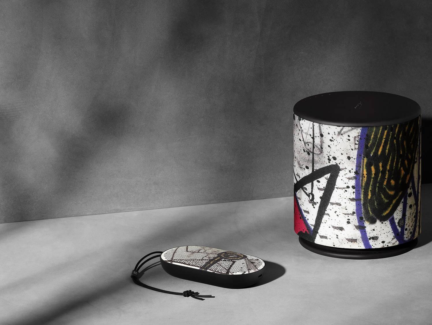 El mejor sonido de Bang & Olufsen con ilustraciones de David Lynch