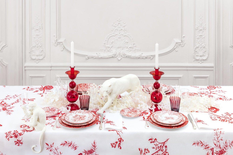 Las firmas de moda de lujo visten tu mesa
