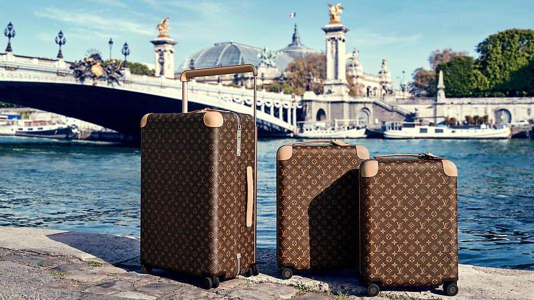 Olvídese de perder su equipaje con la colección Horizon de Louis Vuitton