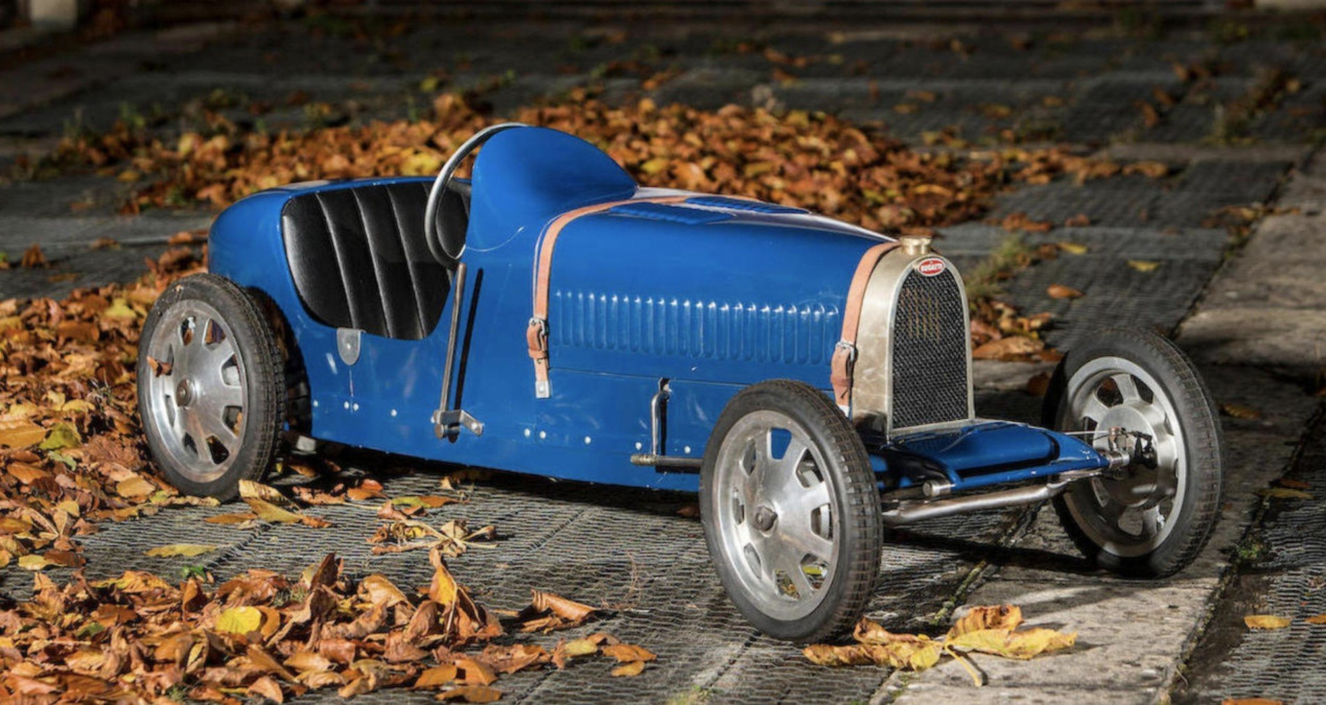 Bugatti Baby II, un capricho para los pilotos más pequeños de la casa