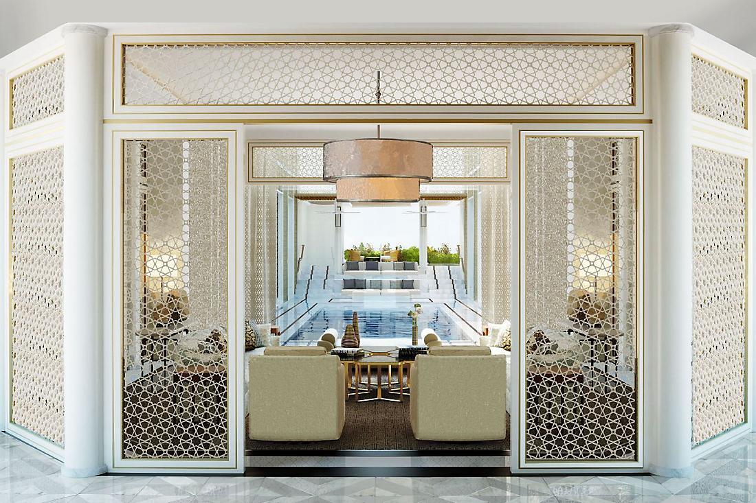 Mandarin Oriental en Doha, elegantemente lujoso en todos los sentidos