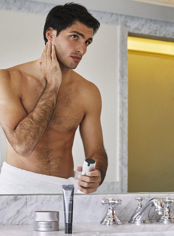 Shiseido-Men-Carlos-Sainz-TheLuxuryTrends
