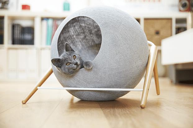Meyou París, mobiliario de diseño para los felinos más exigentes