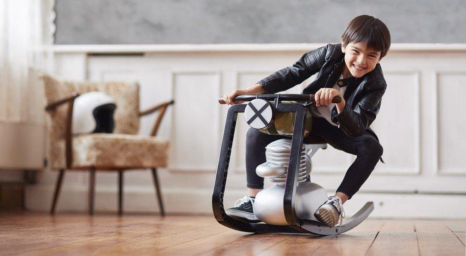 Moto Rocker, la motocicleta para los entusiastas del motor más pequeños de la casa