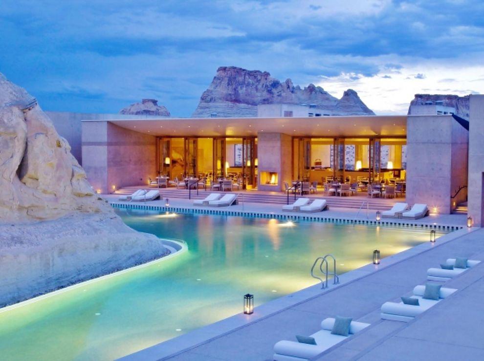 Amangiri Hotel & Resort, un auténtico oasis en el desierto de Utah
