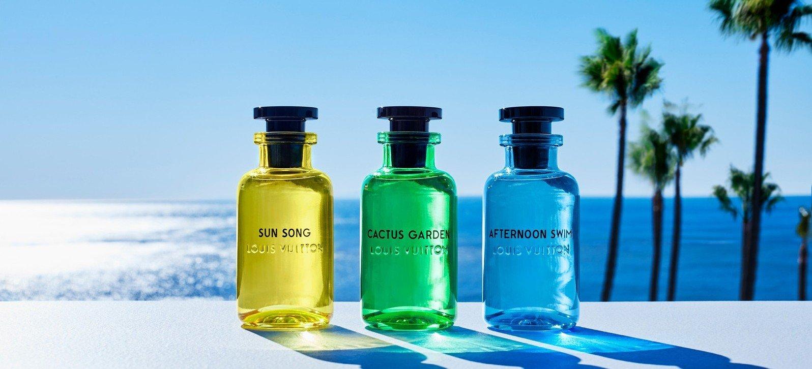 Los nuevos perfumes de Louis Vuitton te invitan a un verano eterno