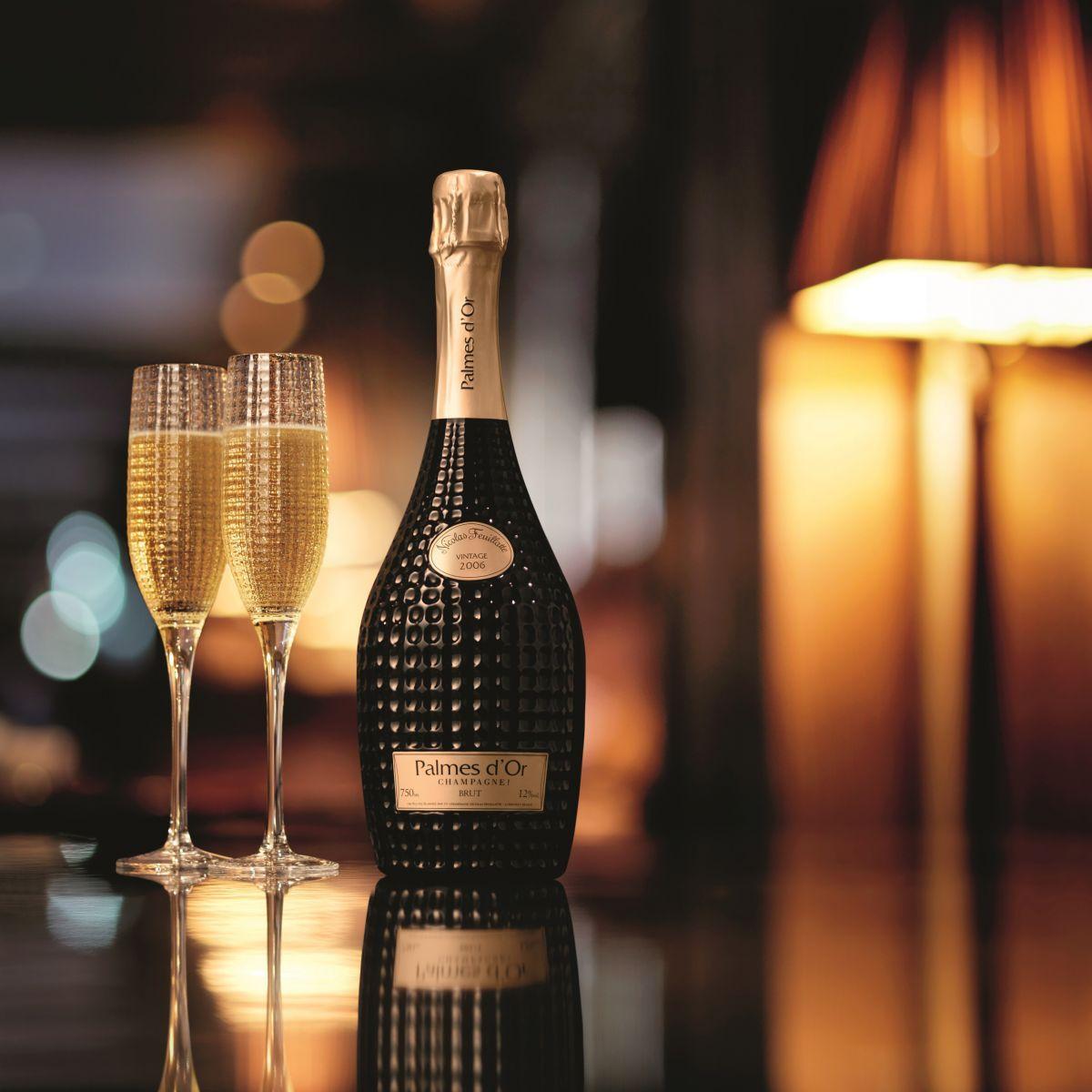 Palmes d'Or de Nicolas Feuillatte, el champagne con más estilo