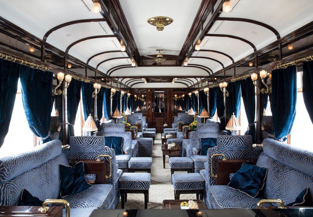 Interior del nuevo Orient Express
